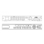 16 channels 960H real time CCTV DVR HDMI - Remote Access - Motion Detection